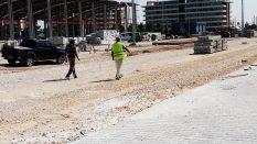 Konya Yapı Merkezi Tramvay Hattı Yapım Uygulaması